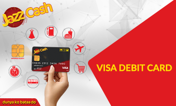 jazz visa atm debit card